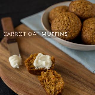 Carrot Oat Muffins Recipe