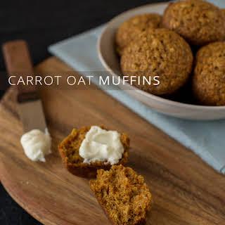 Carrot Oat Muffins.