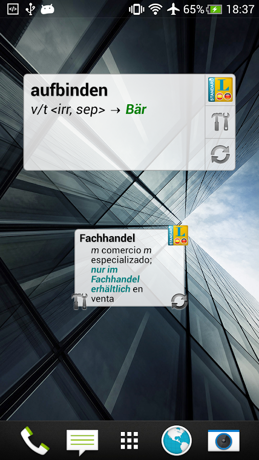 Standard Spanisch - screenshot