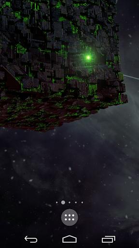 Borg sci-fi live wallpaper