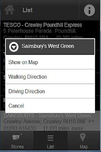 Superstores Locator Pro screenshot 2