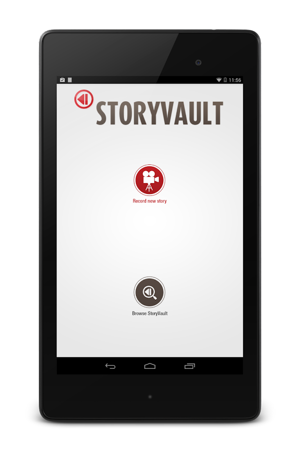 StoryVault - screenshot