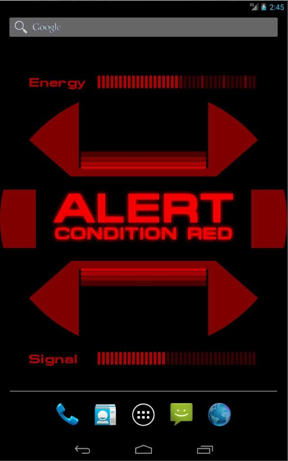 ST: Red Alert Wallpaper- screenshot