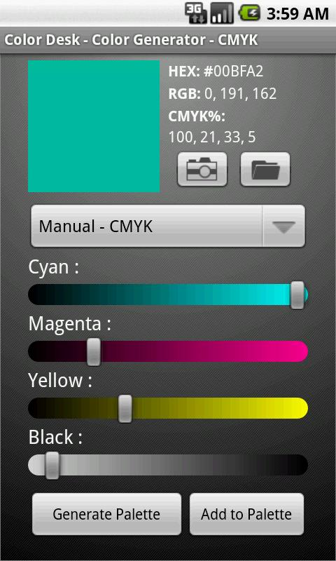 Color Desk - screenshot