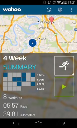 Wahoo Fitness: Workout Tracker  screenshots 1