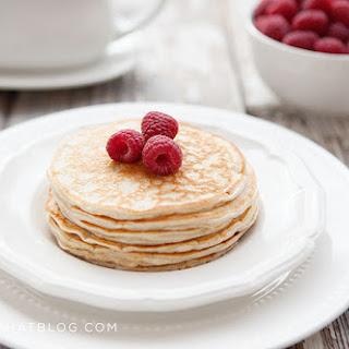 Low Carb Blender Pancakes.