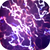 Purple Current Live Wallpaper