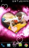 Screenshot of Love Frame Live Wallpaper