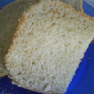 Basic Bread Machine White Bread.