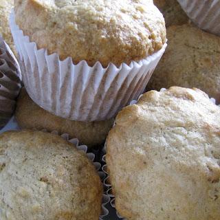Peanut Butter Banana Bread Muffins.