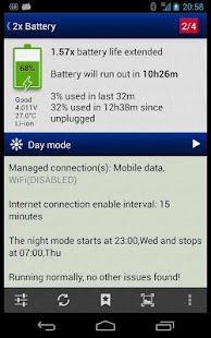 2x Battery - Battery Saver screenshot 1