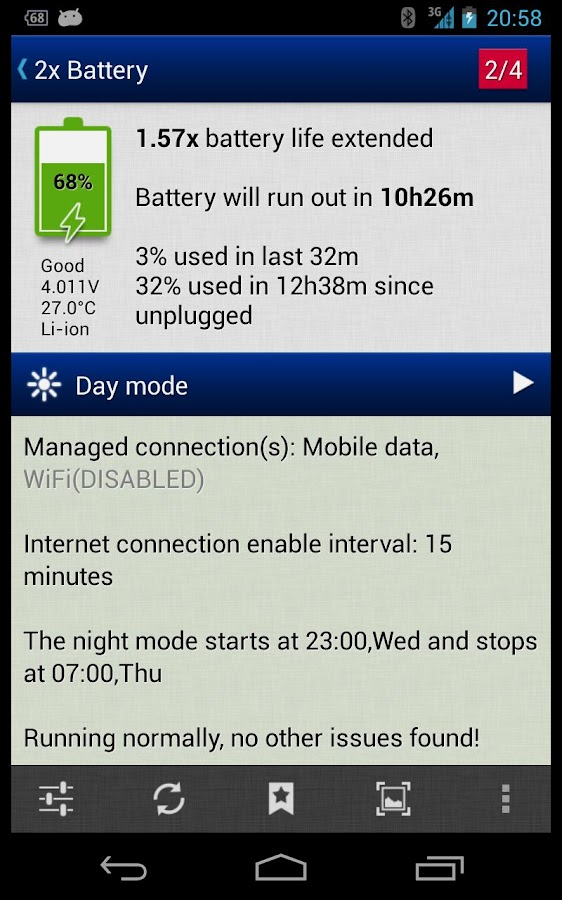 2x Battery - Battery Saver - screenshot