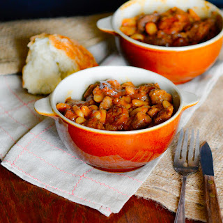 Lamb and Chorizo Stew with Cassoulet Beans