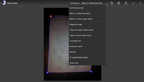 Mobile Doc Scanner 3 + OCR Screenshot 2