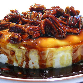 Kahlua Pecan Brown Sugar Baked Brie