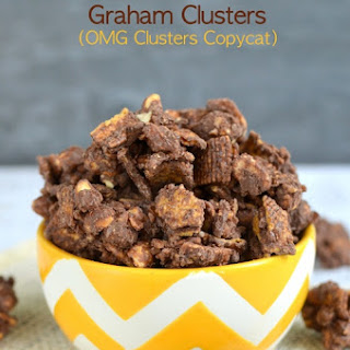 Chocolate Toffee Graham Clusters