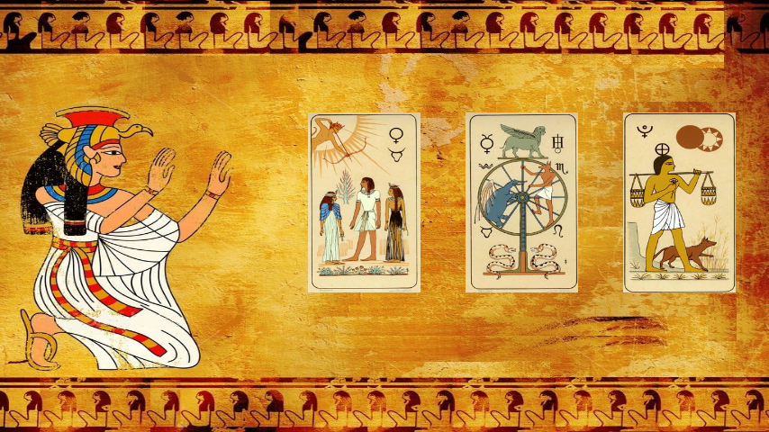 Tarot egipcio de la Fortuna - screenshot