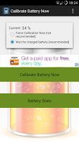 Screenshot of Calibrate Battery Now (root)