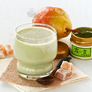 Crystallized Ginger Soy Smoothie.