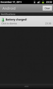 Battery Full Notification - screenshot thumbnail