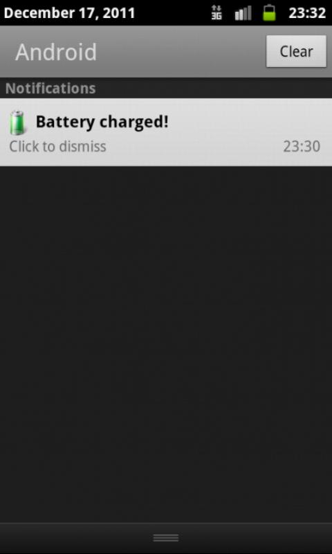 Battery Full Notification - screenshot