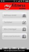 Screenshot of MyFitness.ee