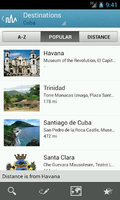 Cuba Travel Guide by Triposo - screenshot
