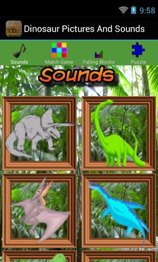 Dinosaur Pictures And Sounds