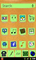 Screenshot of CorkBoard Green