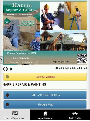 【免費商業App】Harris Painting and Repair-APP點子