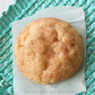 The Best Snickerdoodle Cookie