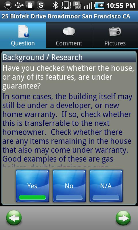 Homebuyer Checklist- screenshot