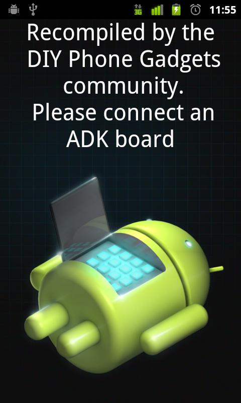 Standard Android ADK Demo Kit - screenshot