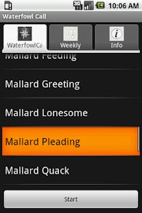 Waterfowl Call- screenshot thumbnail