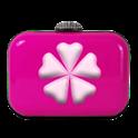 Pink Love thème C Lanceur icon