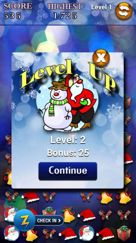 Santa Pop- screenshot