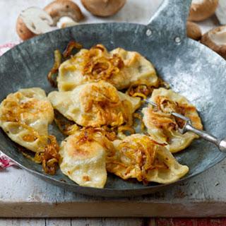 Mushroom And Cabbage Pierogi