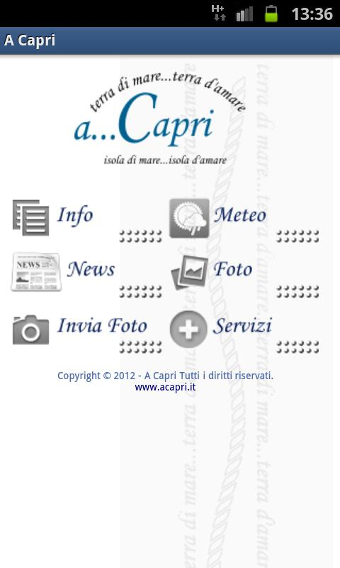 A Capri- screenshot