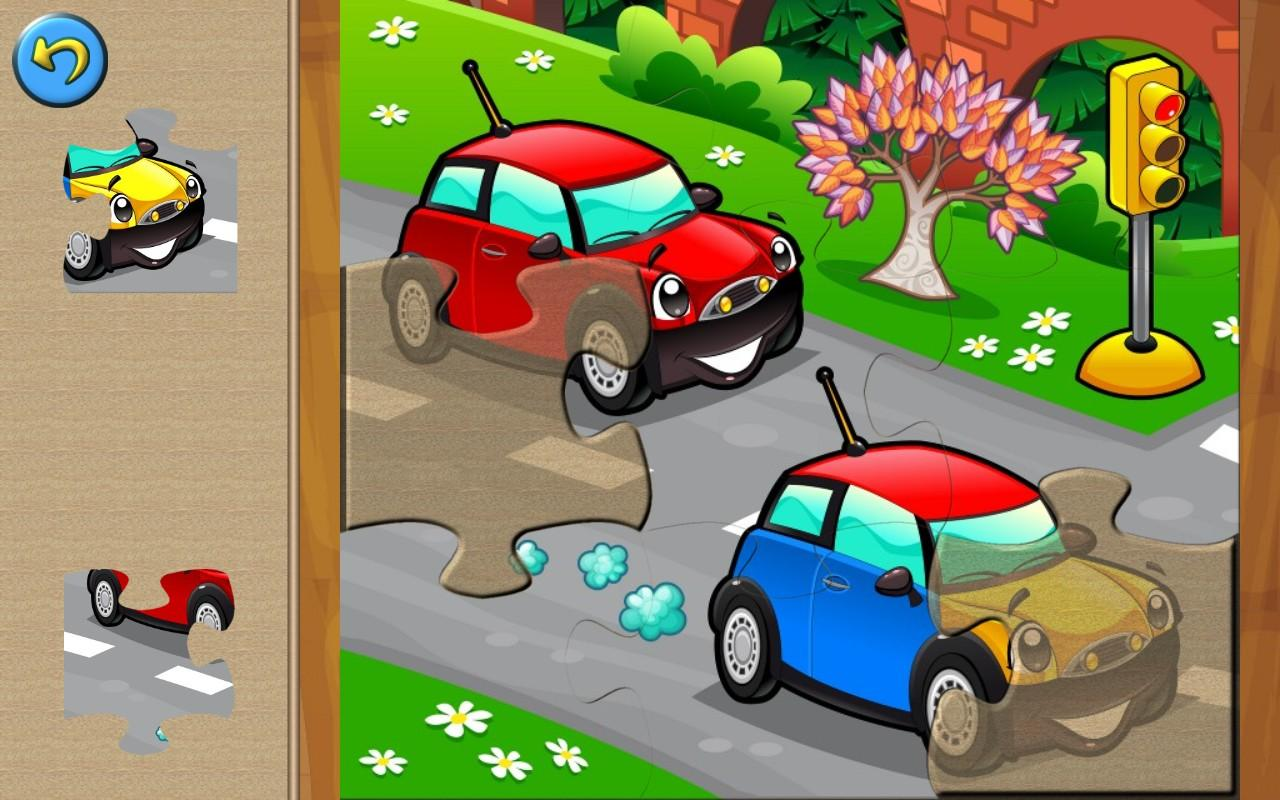 Cars for Kids: Puzzle Games- screenshot