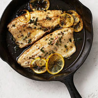 Trout with Lemon and Herbs.
