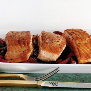 Salmon with Agrodolce Sauce