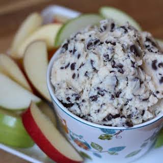 Chocolate Chip Cookie Dough Dip.