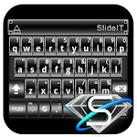 SlideIT Black Diamond Skin 4.0 Apk