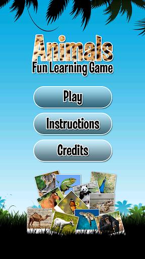Animals Fun Learning Game