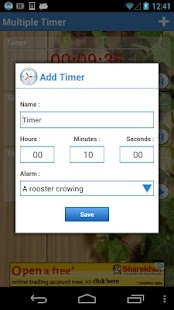 Multiple Timer Lite- screenshot thumbnail
