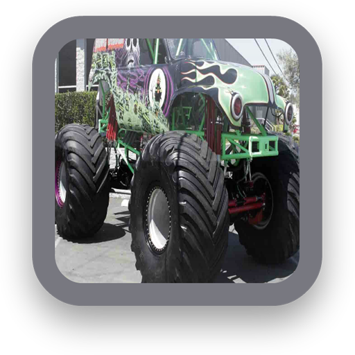 Monster Trucks Wallpaper LOGO-APP點子