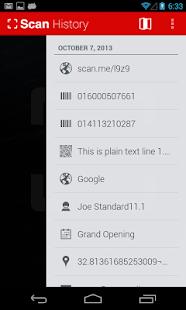 QR Code Reader Screenshot