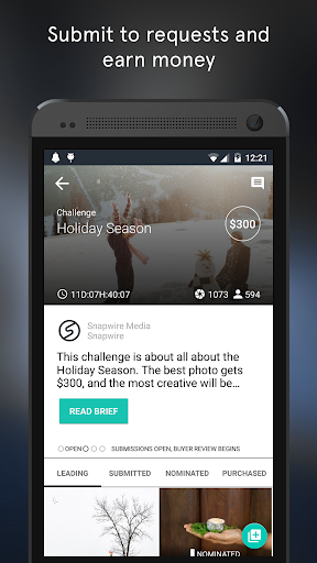 Snapwire - Sell Your Photos  screenshots 2