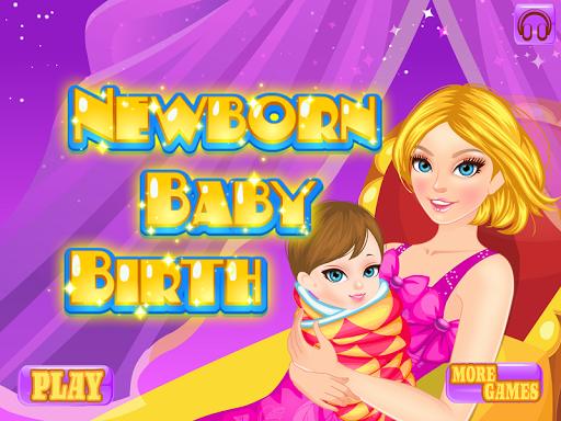 新生儿出生婴儿游戏