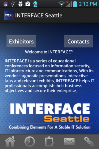 Interface Seattle - screenshot